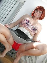 hot female goth nude